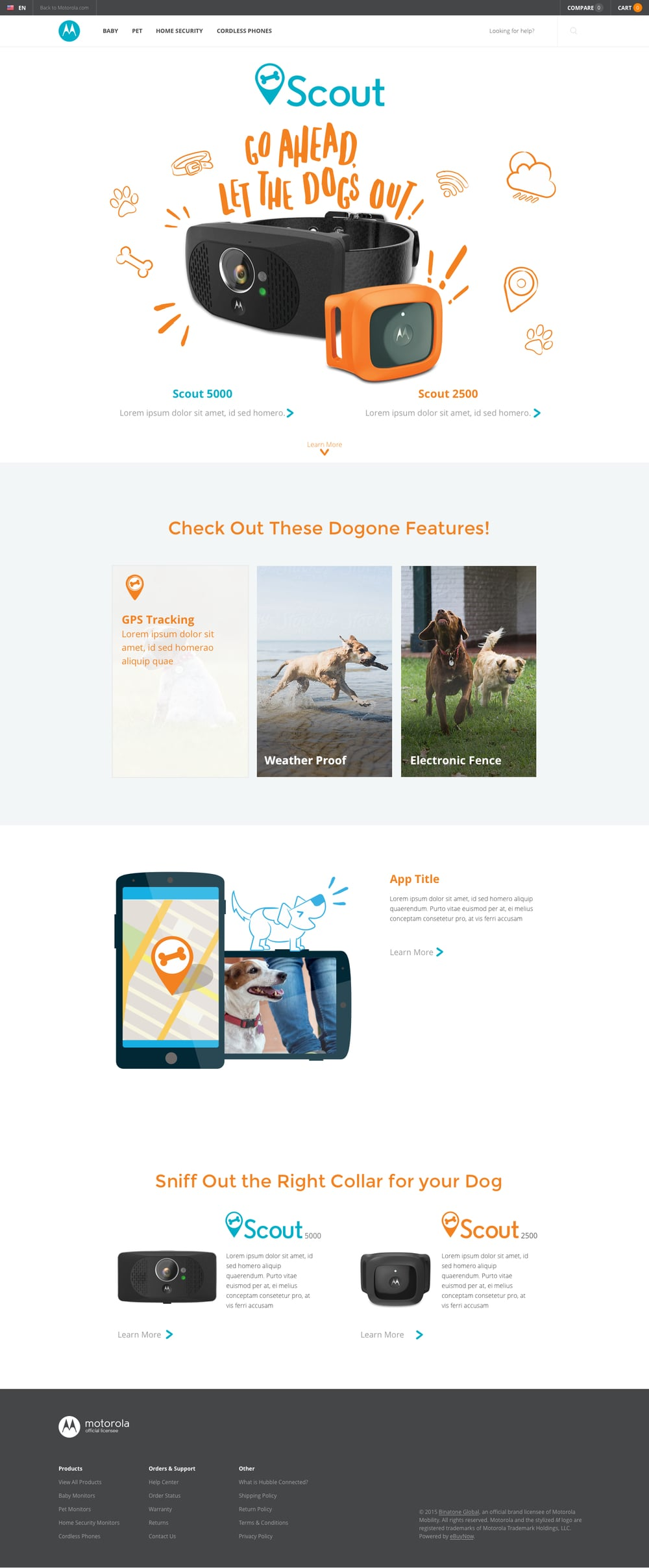 Scout 2500/5000 Landing Page