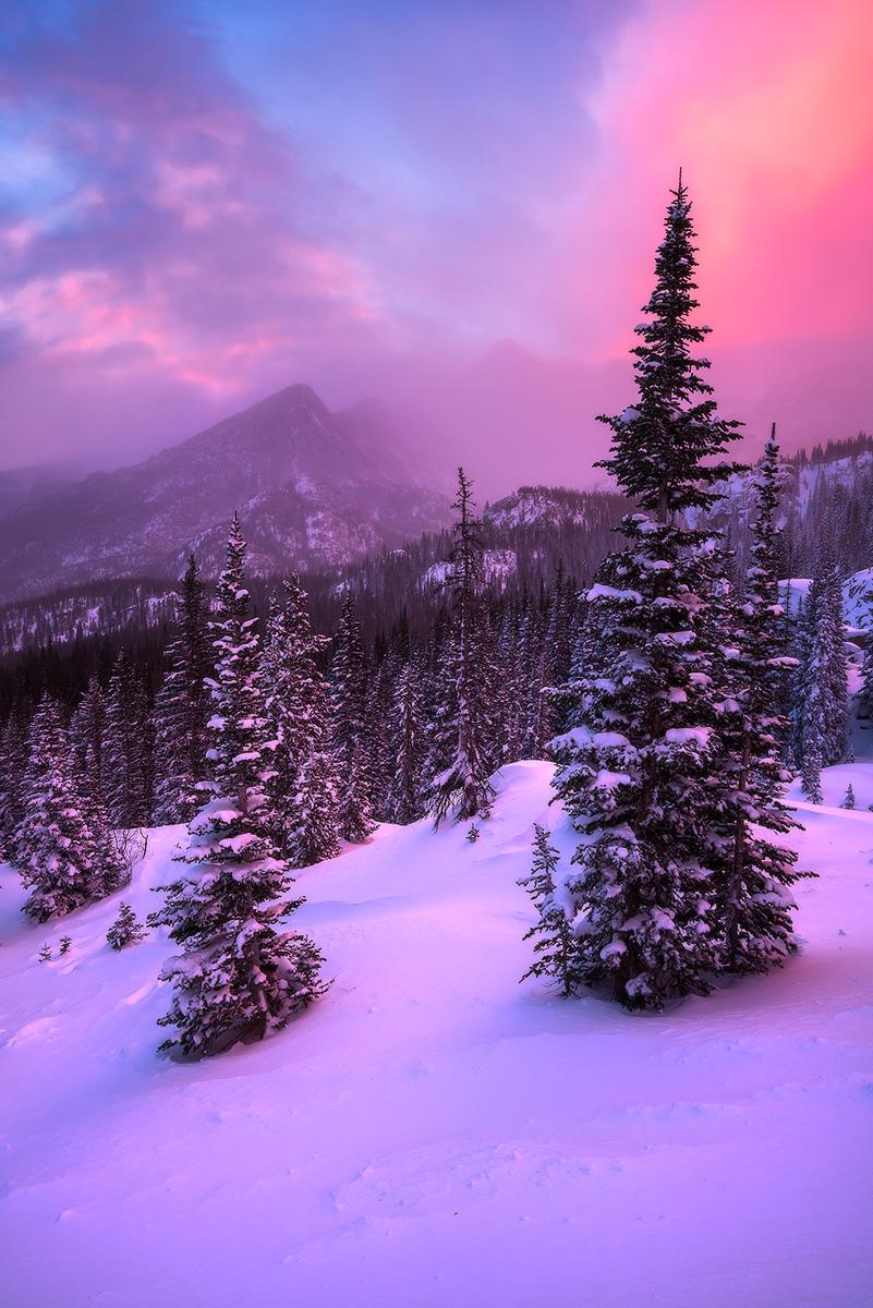 landscape-photo-snow-glacier-gorge