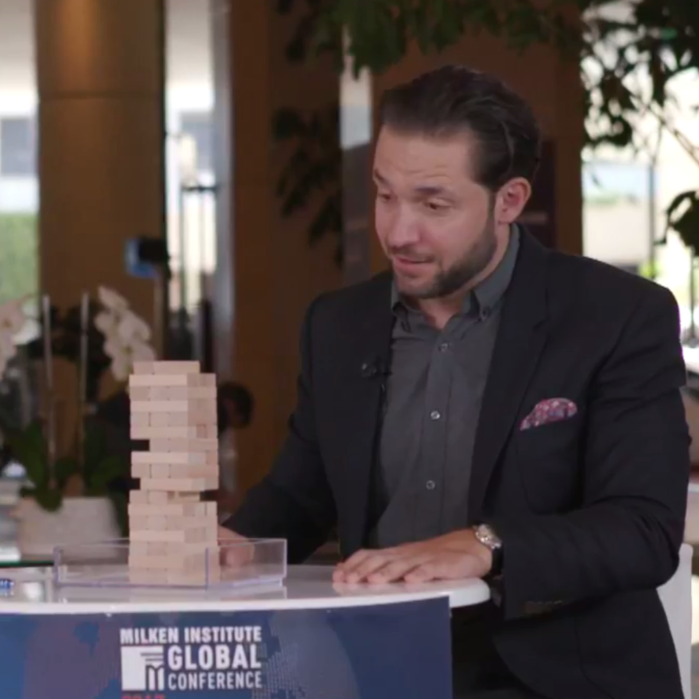 M    elissa Stevens and Alexis Ohanian    FACEBOOK LIVE   LIVE from  #MIGlobal :  Reddit 's co-founder Alexis Ohanian and Milken Institute's Melissa Stevens.
