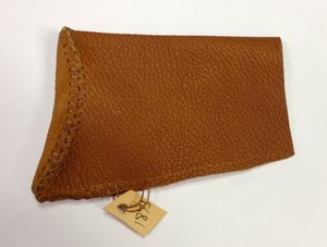 '73 cover in tan. This is our standard leather color. Our leather wraps are also this color.