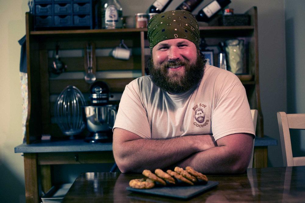 Jonny is Big Boy. - Cookie Innovator, Flavor Genius, and all around swell guy.