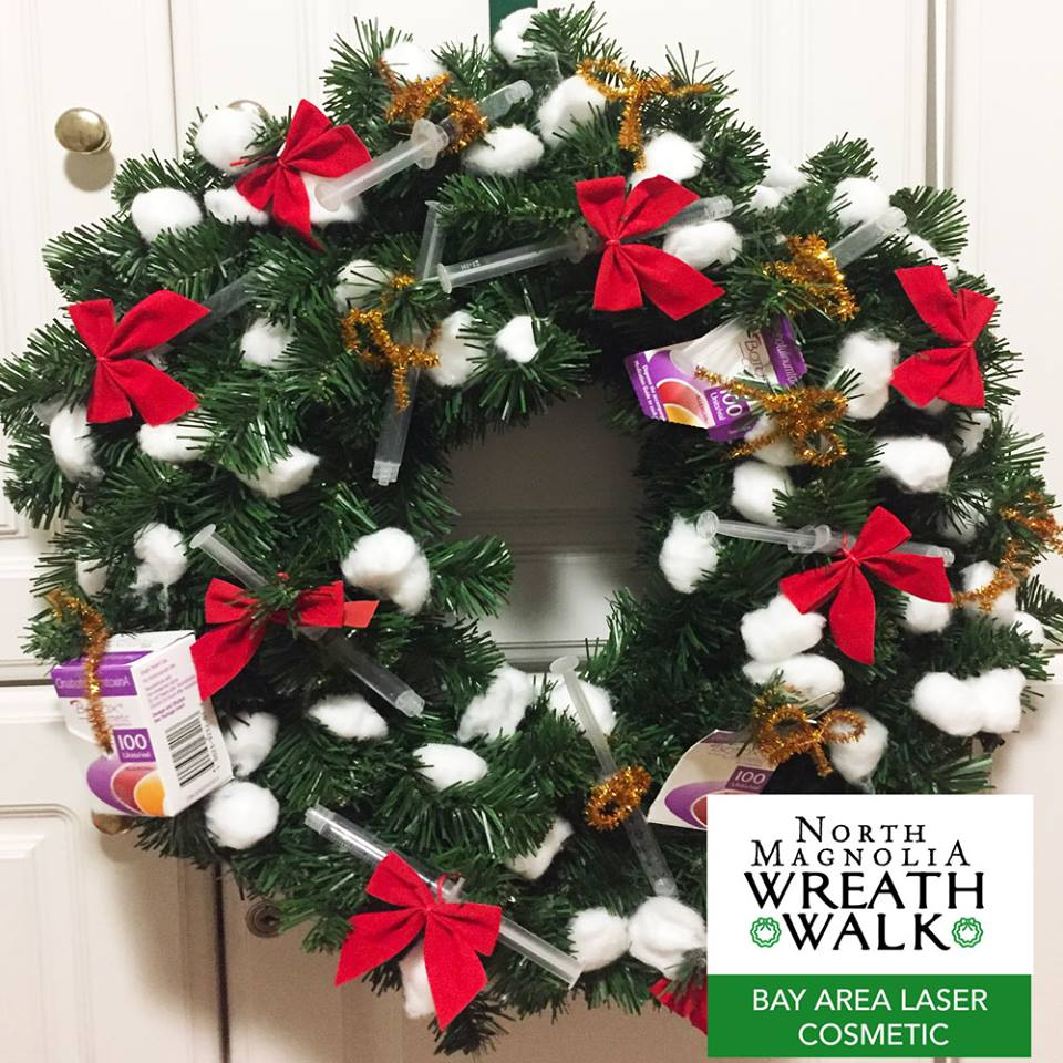 Wreath Walk Bay Area Laser Cosmetics