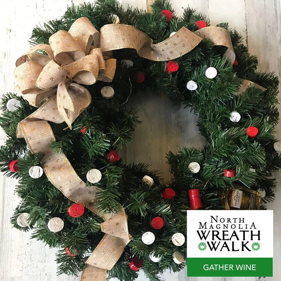 Wreath Walk Gather Wine