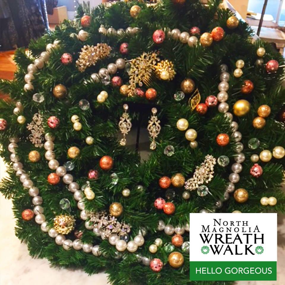Wreath Walk Hello Gorgeous