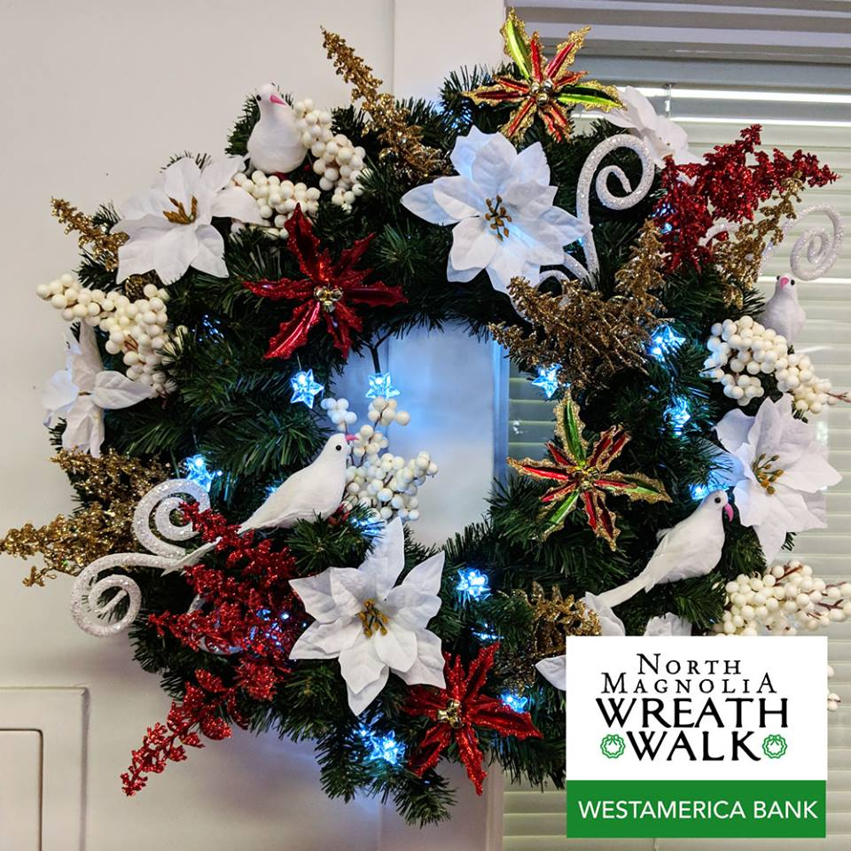 Wreath Walk Westamerica Bank