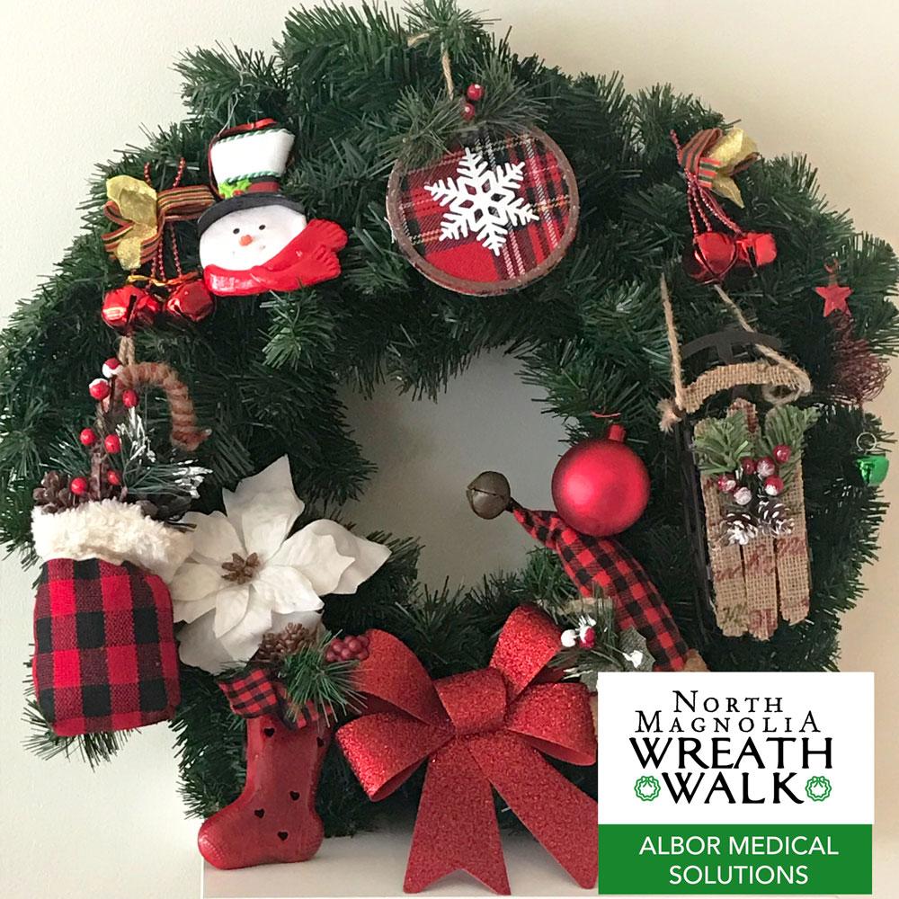 Wreath Walk Albor Medical Solutions