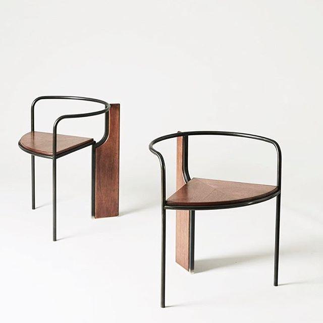 regram of the 'fin chair' via @radnor.co, design collaborative a'la @pelle______ + @eriebasin — nov. 17