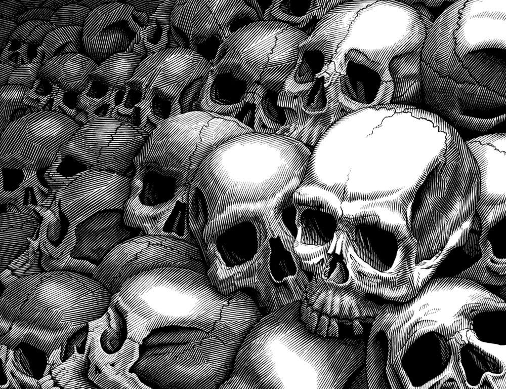 Dark Eden 1, Skulls
