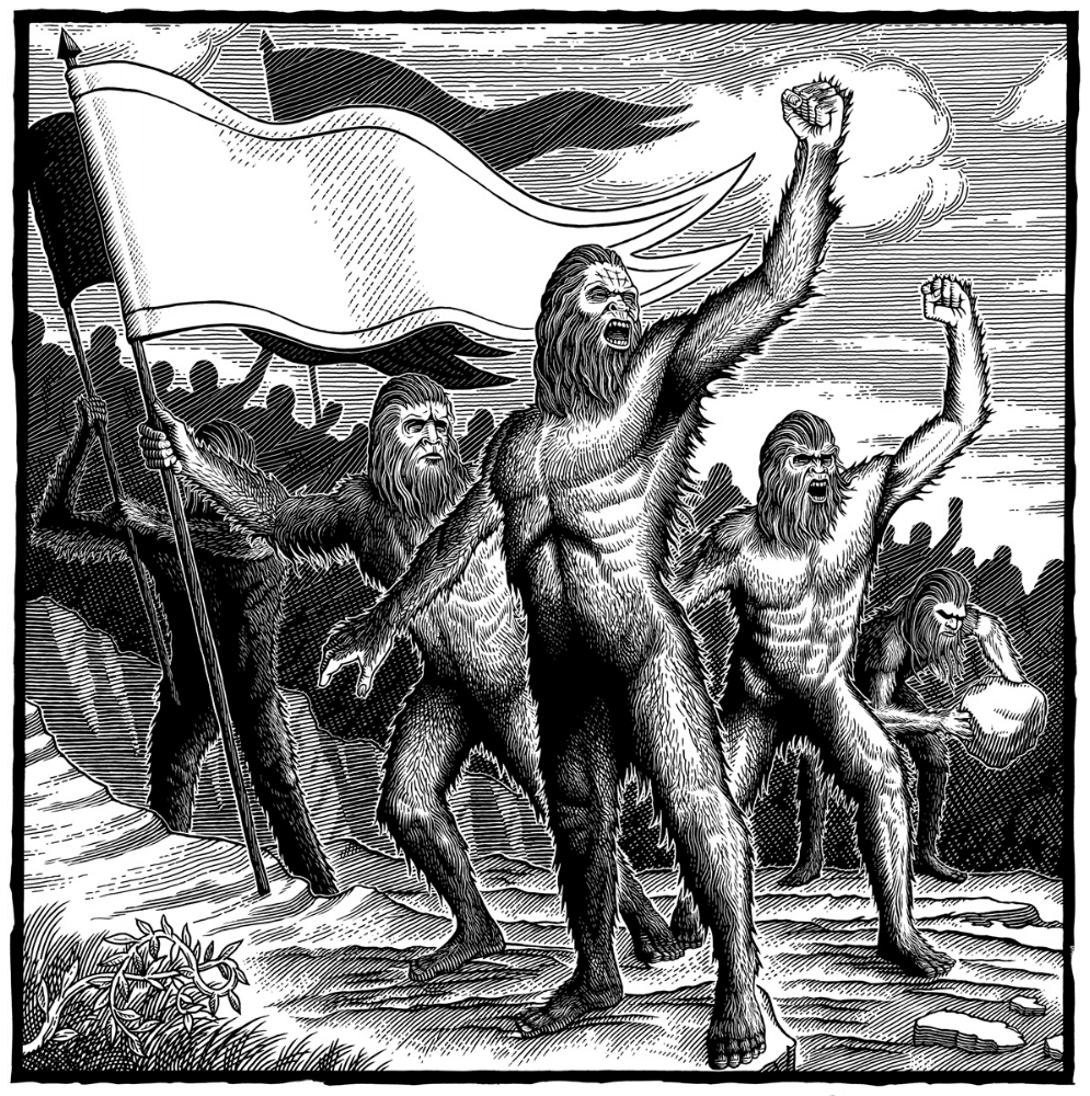 History of Magic in North America, Sasquatch Uprising