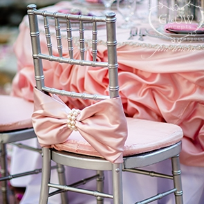chair cover bows. Silver Chiavari Chair Cover Bows
