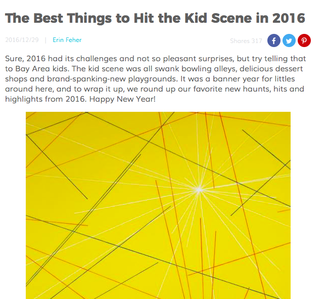 RED TRICYCLE - The Best Things to Hit the Kid Scene in 2016 (check out number 11!)