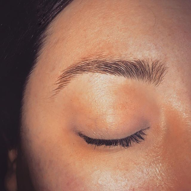 Brows on point #aftersugaring