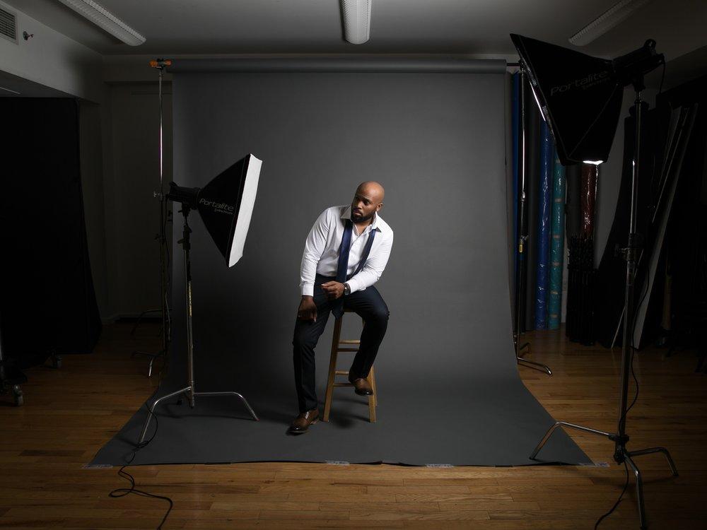 Studio Shoot w/@nfa.djba |  © 2018 Arthur Hylton Images