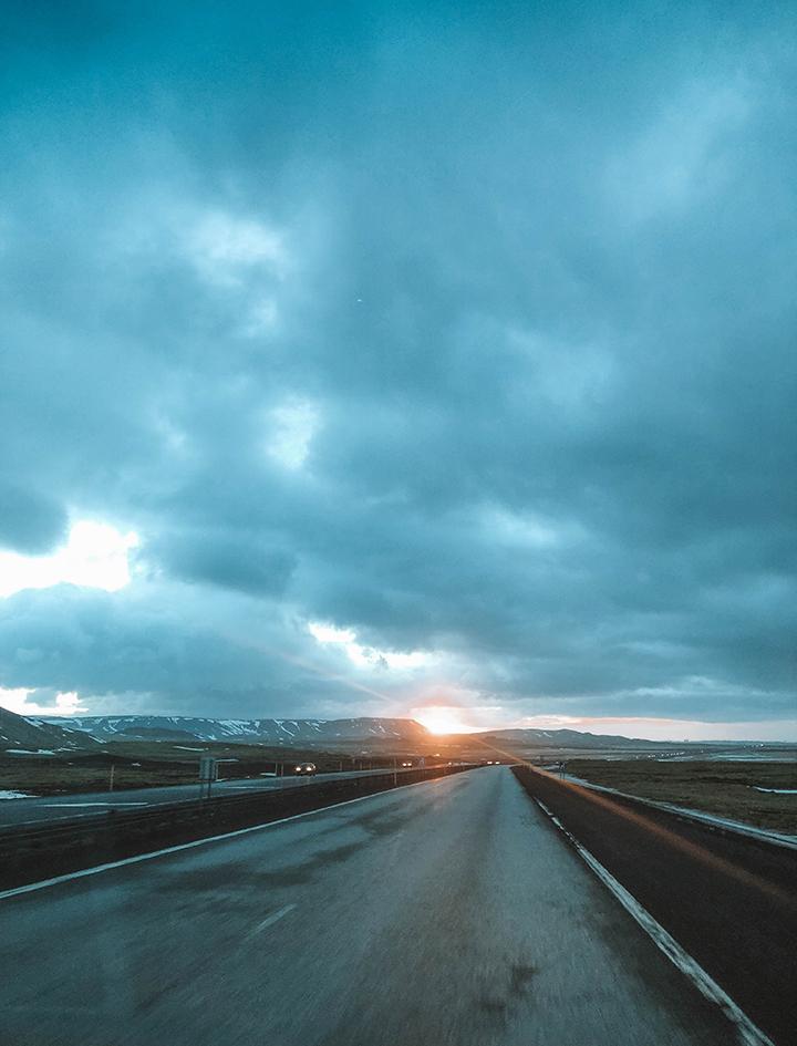 Drive back to Reykjavik