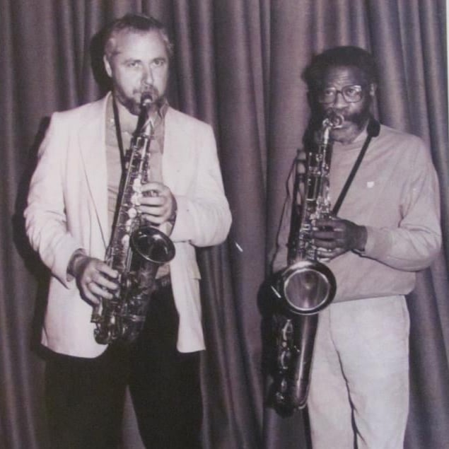Pete Yellin with Joe Henderson