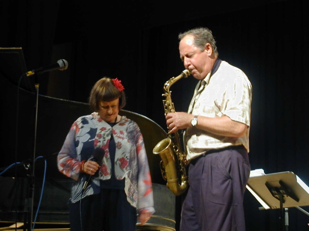 Sheila Jordan and Pete Yellin