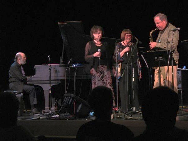 Vermont Jazz Center August, 2009. Faculty Concert. Harvey Diamond, Jay Clayton, Sheila Jordan, Pete Yellin