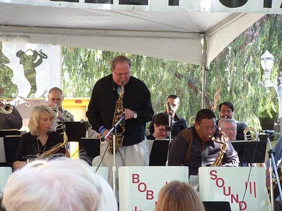 Pete Yellin, Bob Parlocha with Bob Enos Big Band