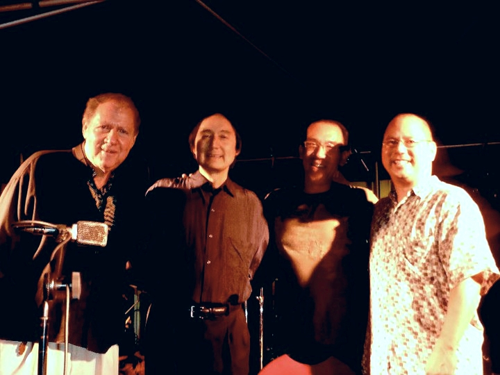 Pete Yellin, Robert Shinoda, Noel Okimoto in Honolulu, Hawaii. March 2011