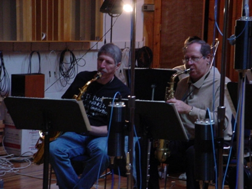 Bob Mintzer and Pete Yellin