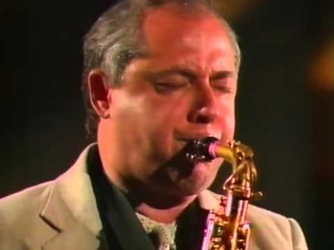 Pete Yellin with Bob Mintzer Big Band, Berlin, 1987.