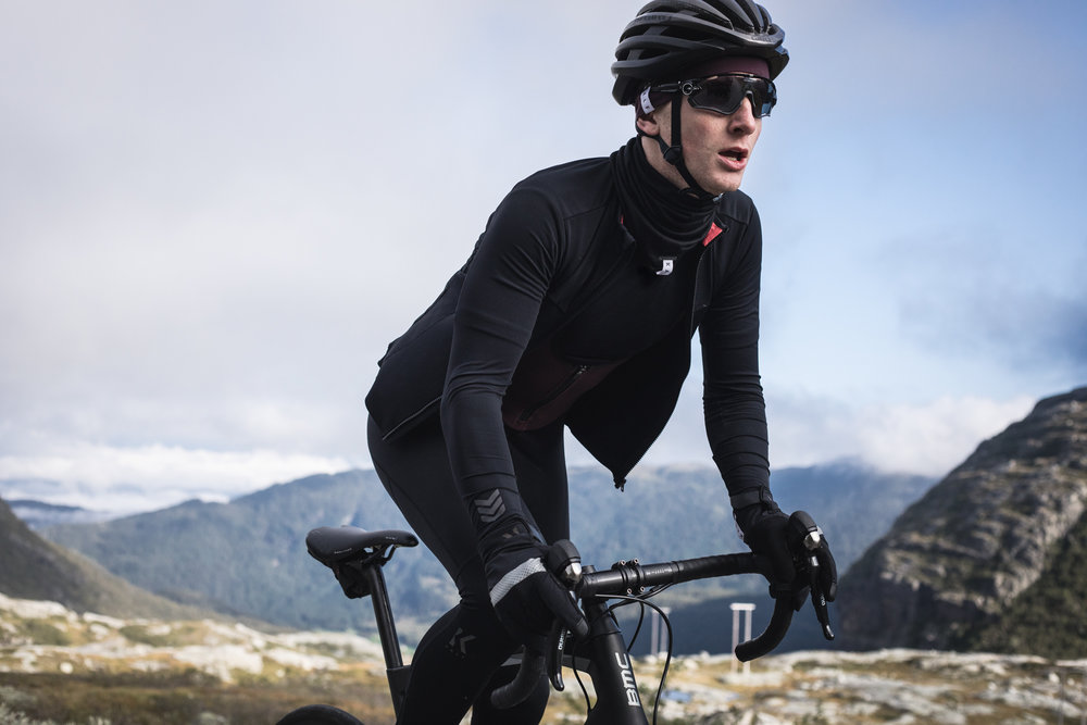 Autumn/Winter collection for cycling apparel brand KALF