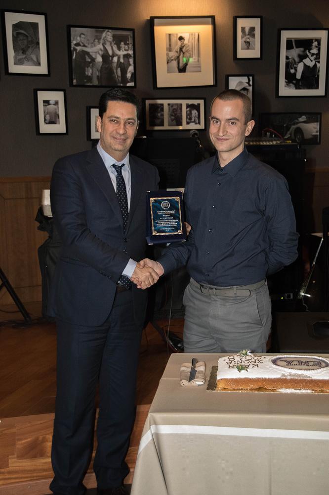 Με τον Δήμαρχο Αγρινίου, κ. Παπαναστασίου