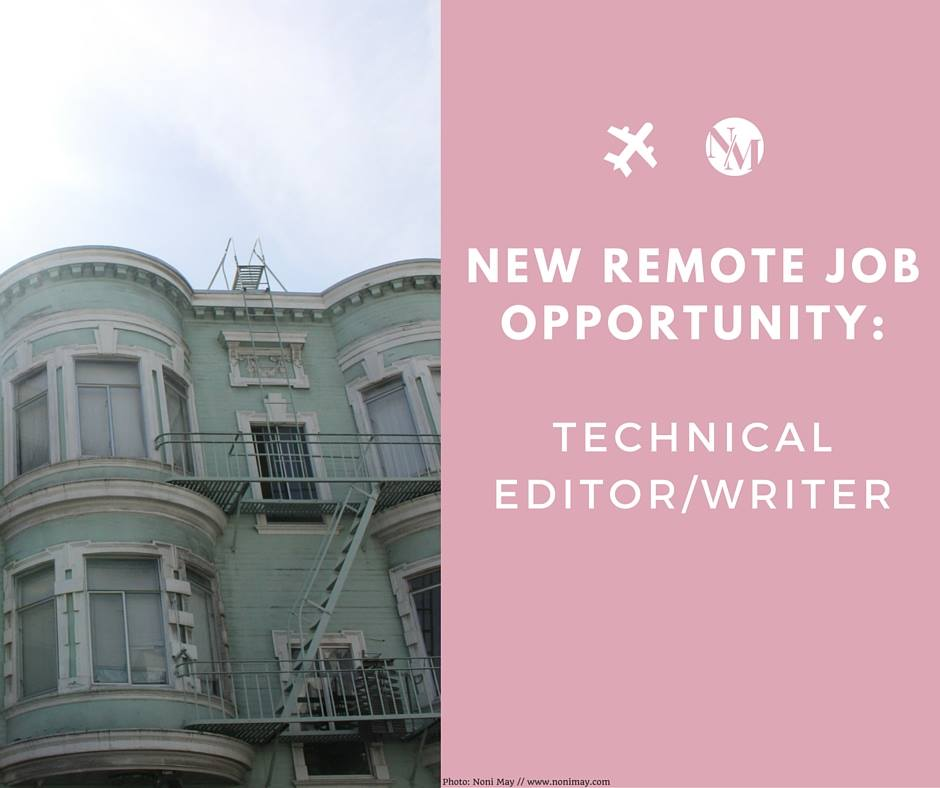 technical writer remote job board for digital nomads