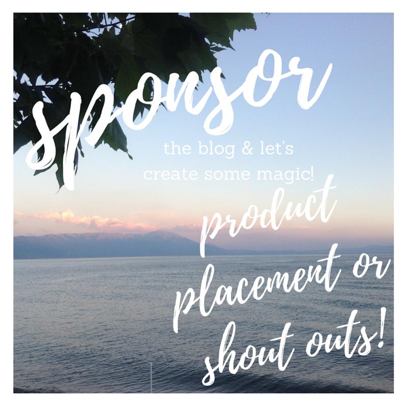 Sponsor the blog looking for blog sponsors!