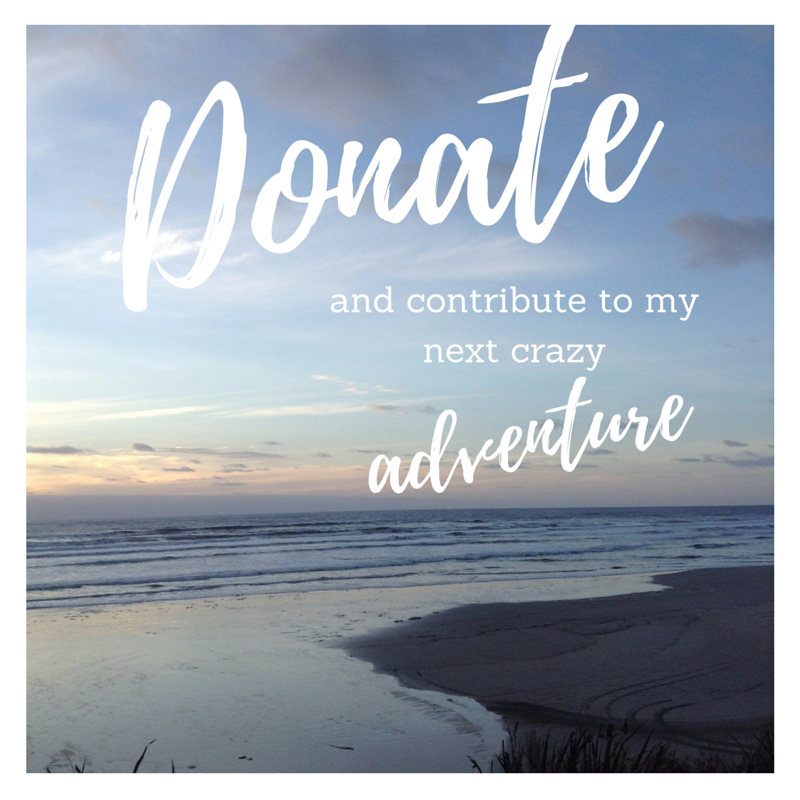 donate my next trip and travel blog