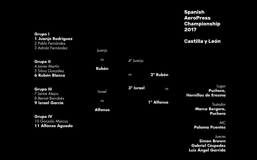 Resultados del Campeonato Regional de Castilla y León celebrado en Hornillos de Eresma, el sábado 22 de abril de 2017.