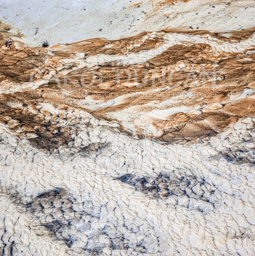 'Flow' (Shelley Beach, near Albany) UV Ink on maple wood block 203x203mm $75 plus postage