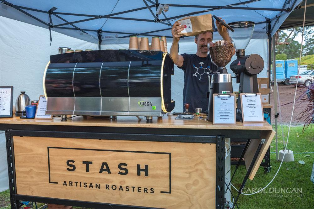 Stash, artisan coffee bean roasters, Denmark WA
