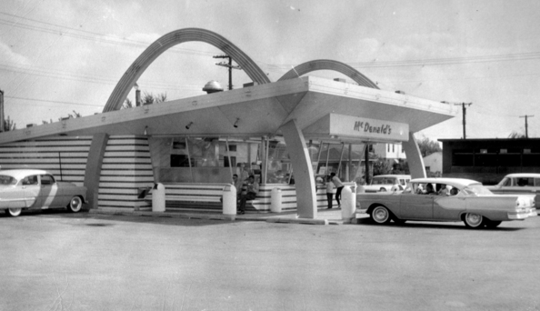 The first Indiana McDonald's opened in 1956. Source: McDonalds Corporation