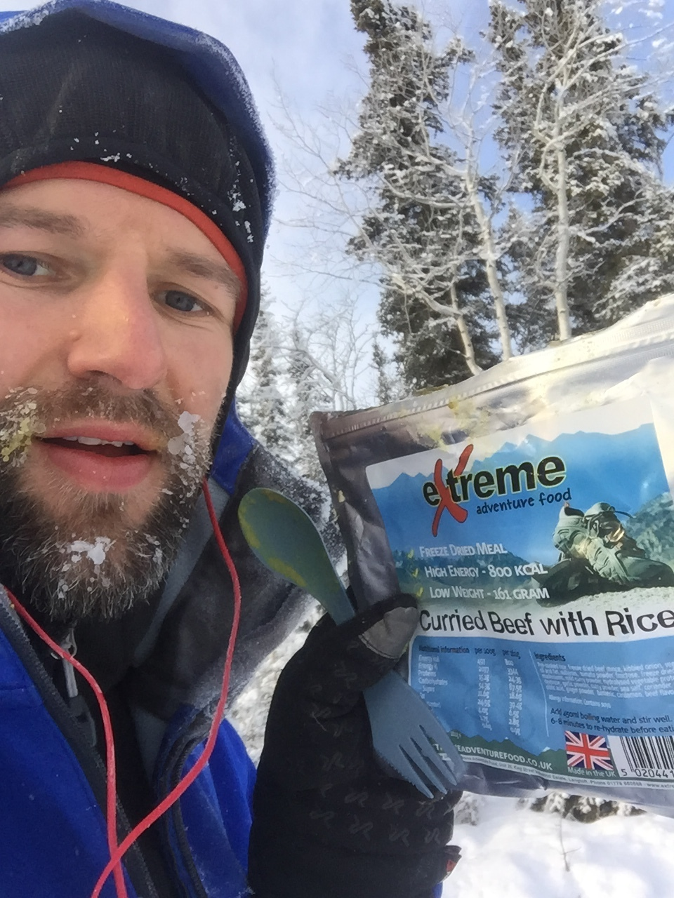 Extreme Adventure Food that i've used during the Yukon Arctic Ultra 300 mile race.
