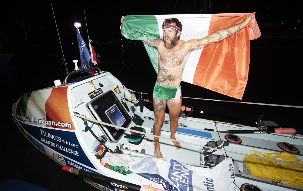 RECORD-BREAKING IRISH SOLO ROWER, GAVAN HENNIGAN, FINISHES THE TALISKER WHISKY ATLANTIC CHALLENGE CREDIT BEN DUFFY 4.JPG