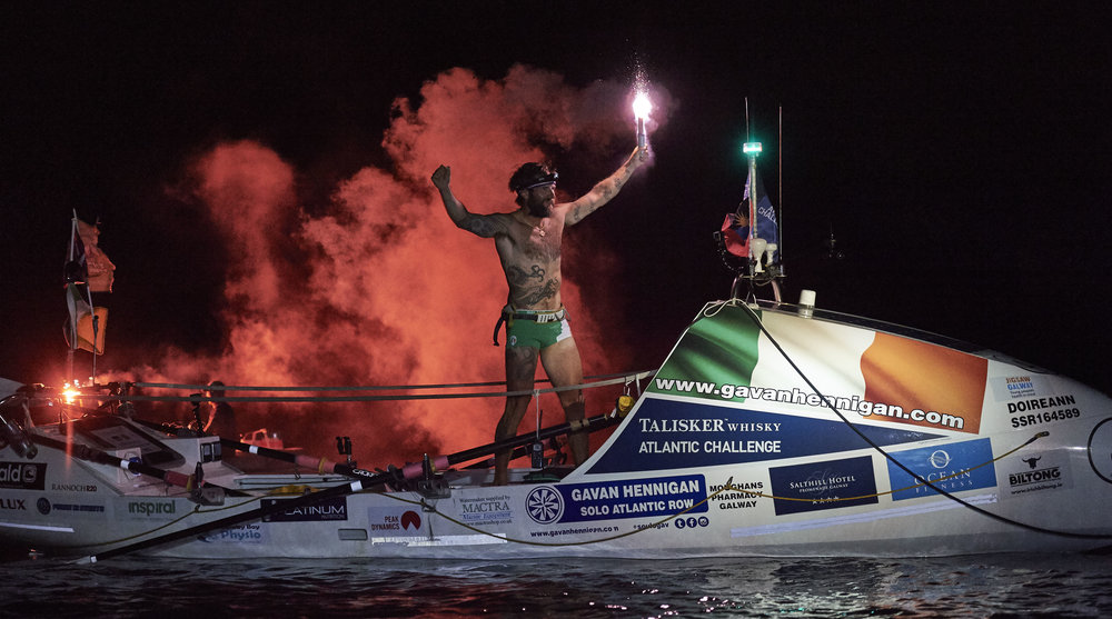 RECORD-BREAKING IRISH SOLO ROWER, GAVAN HENNIGAN, FINISHES THE TALISKER WHISKY ATLANTIC CHALLENGE CREDIT BEN DUFFY 3.jpg