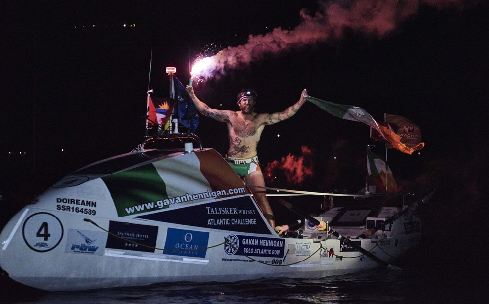 RECORD-BREAKING IRISH SOLO ROWER, GAVAN HENNIGAN, FINISHES THE TALISKER WHISKY ATLANTIC CHALLENGE CREDIT BEN DUFFY 6.jpg