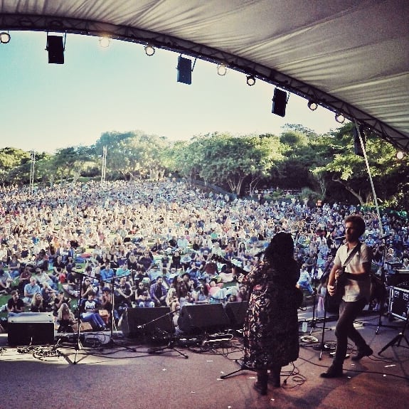 What a great stage to be playing on and to one of the best audiences in South Africa!Thanks Gavin Minter @trane57 for making this happen and to #kirstenboschsunsetconcerts for hosting the #capetownfolkandacousticfest  And thanks to @_paigemac_ for the colab xx I played my resonator from @haywardcustomguitars thanks man!Great guitar  #bigstage #singer #songwriter #musicianslife #musician #lovemusic #liveisbetter #acoustic #lovecapetown #southafrica #mountains #bestvenue #greatvenue #magic #colaboration #blues #soul #resonator