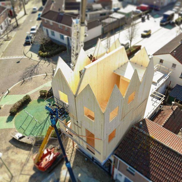#woenselwest nieuwe 'buren' #verhevenhuisjes #trudo