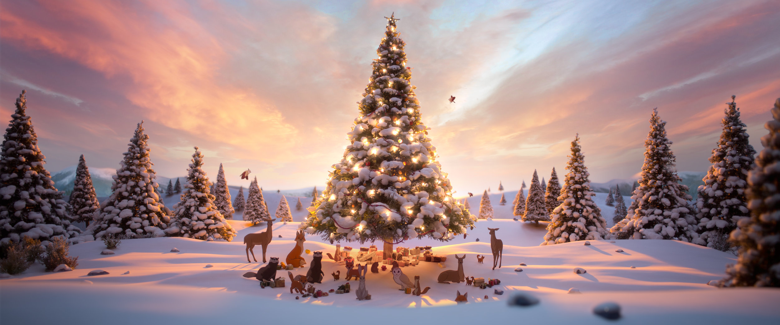 A comparison of animation methods used in John Lewis Christmas ...
