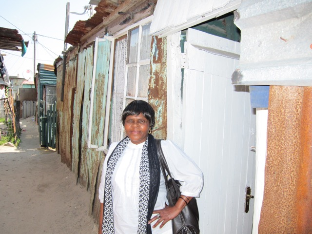 """This is where I lived for 17 years, and where I cared for Lutho for almost 10 years. """