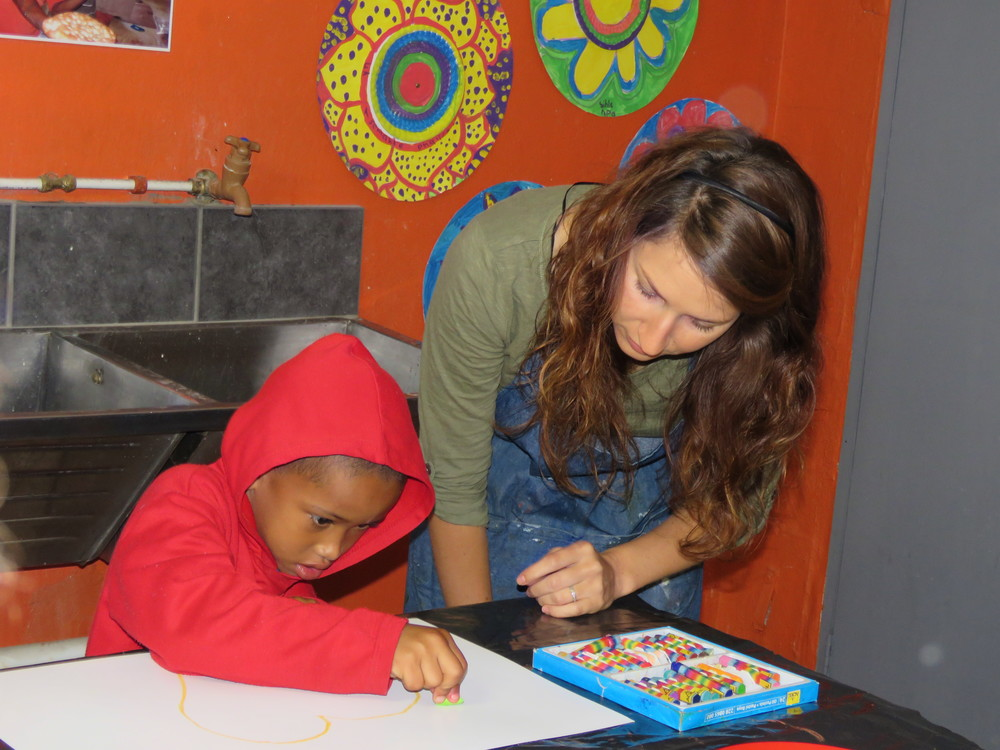 ARH, TAC & UNISA children's art partnership project in Delft