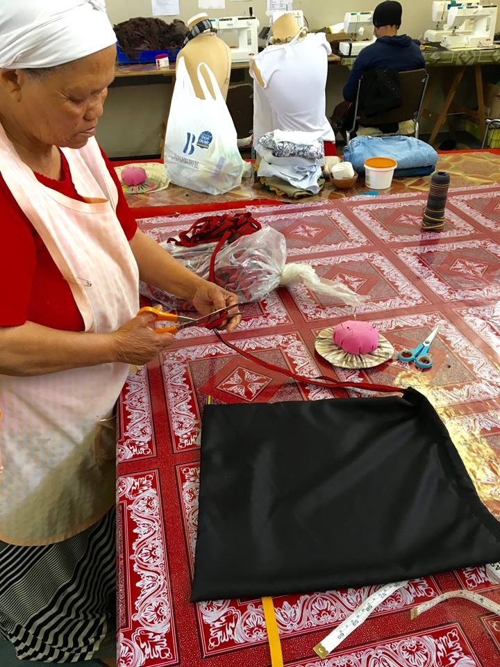 Scottsdene Ladies sewing bags for 3 Helping Hands.jpg