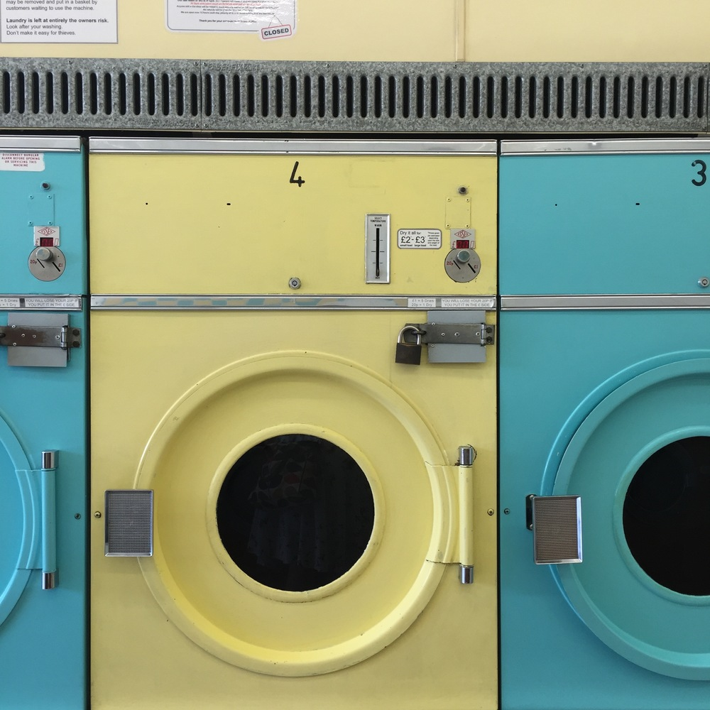 We found the most amazing (and on brand!) laundrette between Sudbury Hill and Sudbury Town stations.
