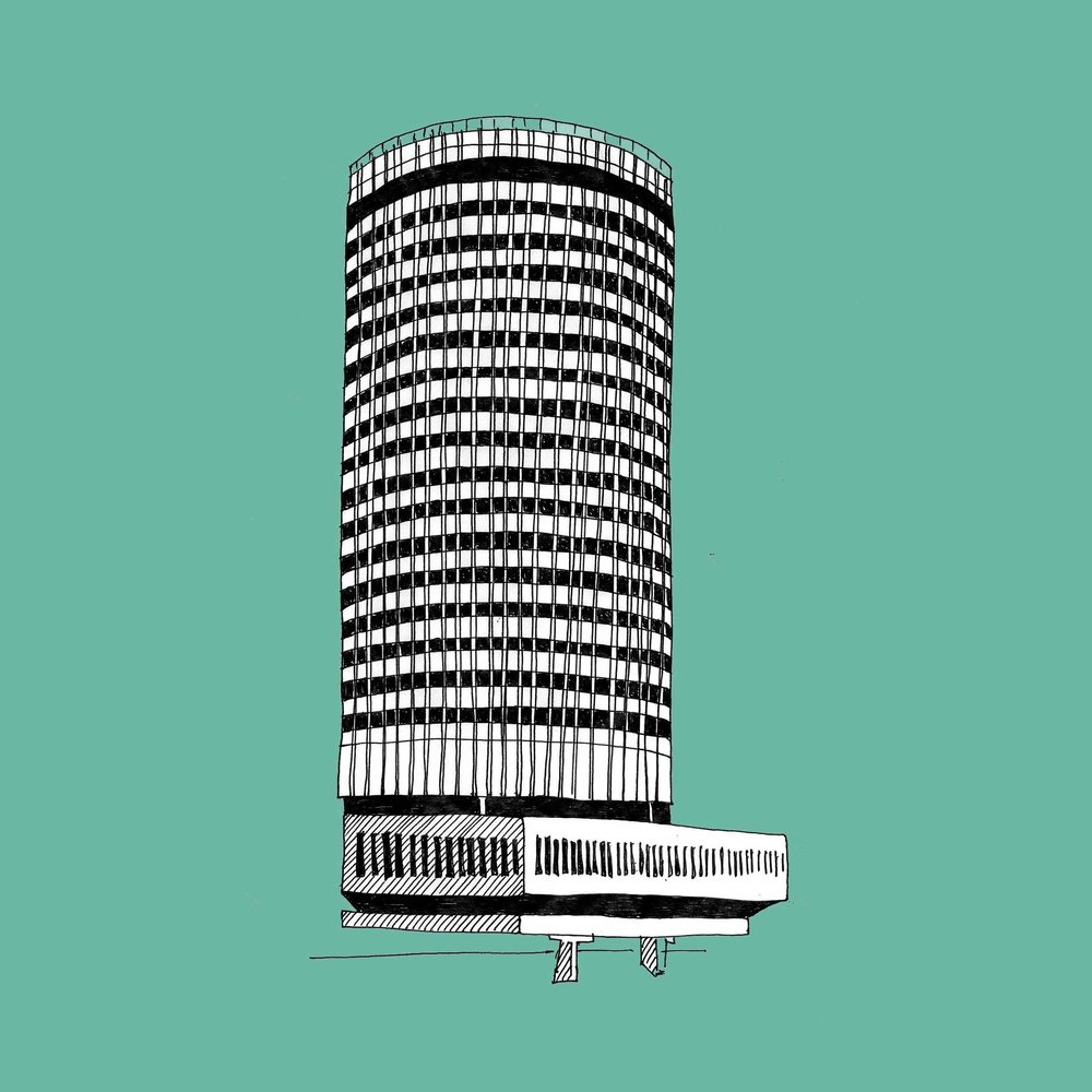 B is for Birmingham - The Rotunda