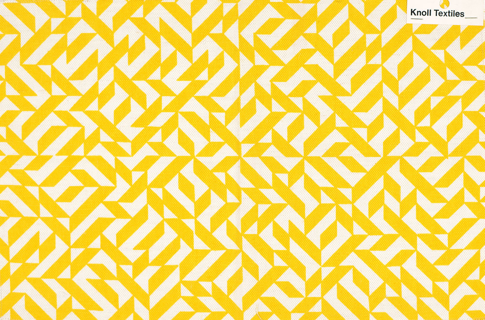 Anni Albers   Eclat  1974, Silkscreen on woven fabric, 3000 x 450 mm, The Josef and Anni Albers Foundation © 2018 The Josef and Anni Albers Foundation and Knoll Textiles / Artists Rights Society (ARS), New York/DACS, London