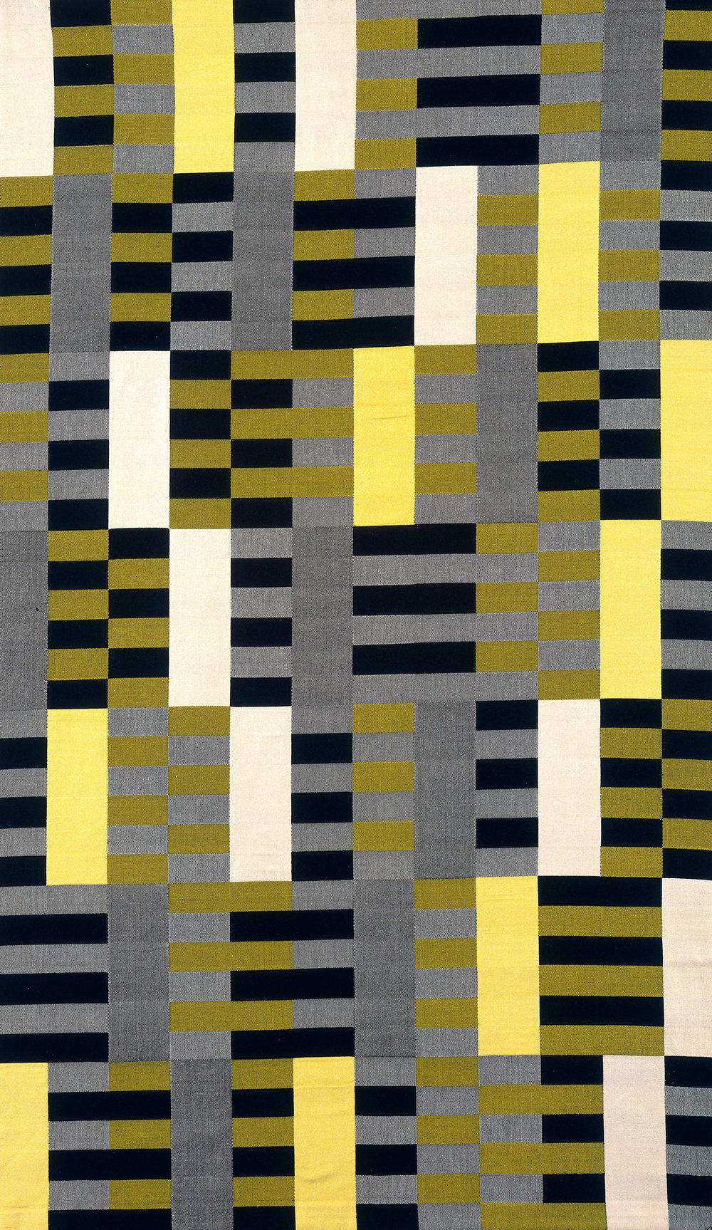 Anni Albers   Wall Hanging  1926, Mercerized cotton, silk, 2032 x 1207 mm, The Metropolitan Museum of Art, Purchase, Everfast Fabrics Inc. and Edward C. Moore Jr. Gift, 1969 © 2018 The Josef and Anni Albers Foundation / Artists Rights Society (ARS), New York/DACS, London