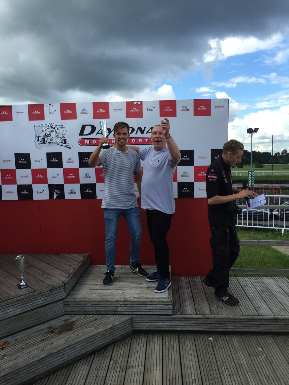 Go Karting - James and Sean.JPG