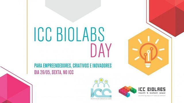 ICC BIOLABS DAY  Você que é criativo, empreendedor, inovador ou profissional de saúde, está super convidado para o ICC BioLabs Day. O evento marca o lançamento oficial do HUB para conexão de startups com soluções para o mercado da saúde.  Participe, conheça o ICC Biolabs e aproveite uma tarde de conexão e muita troca de conhecimento com Talk Shows que irão aguçar o seu lado inovador. ▸Saiba mas: fb.com/iccbiolabs  Até lá!